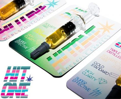 Marijuana oil dabbers