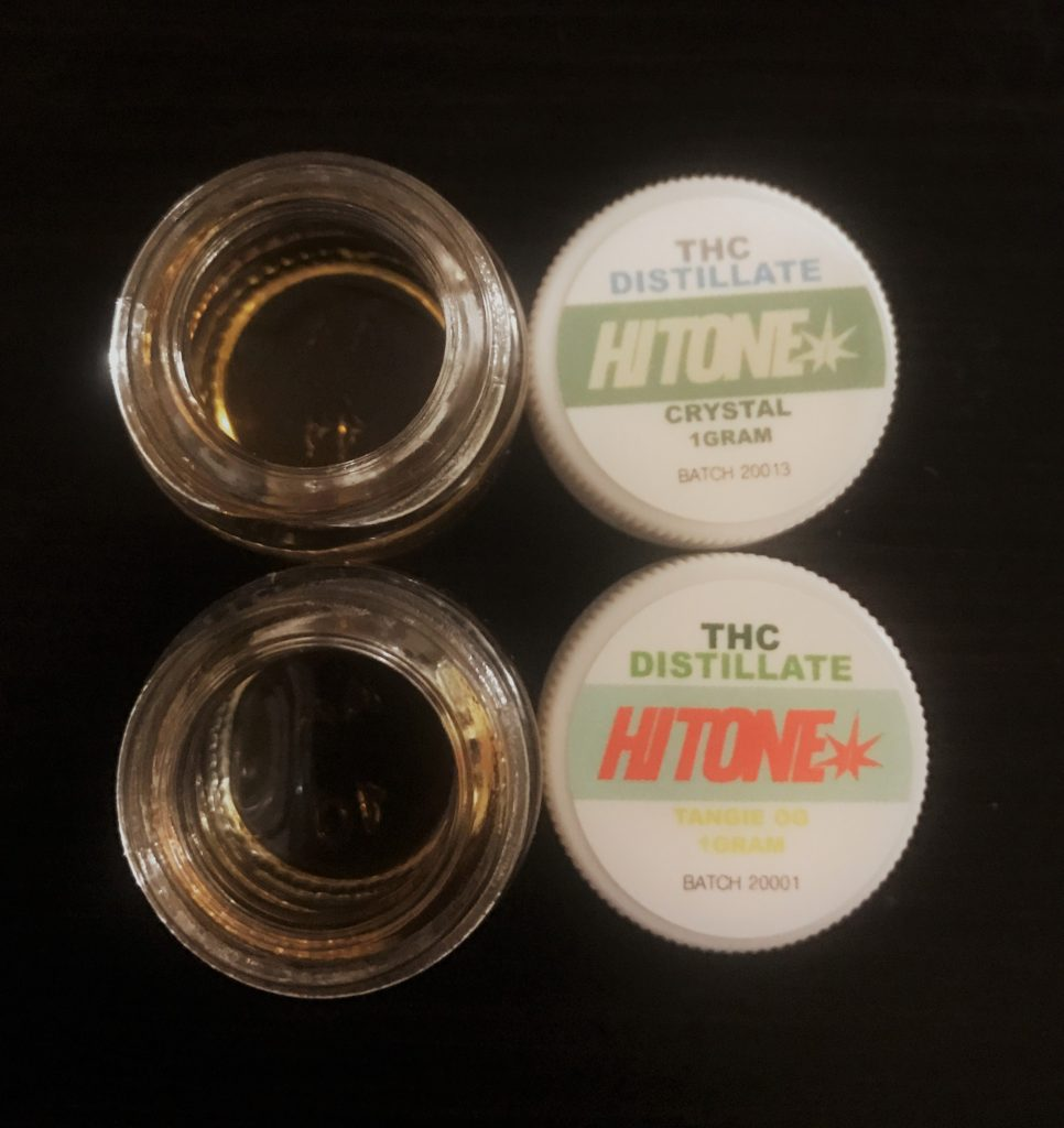 Hit One Clear Cannabis Wax Concentrate  U2013 Sativa  U2013 1g